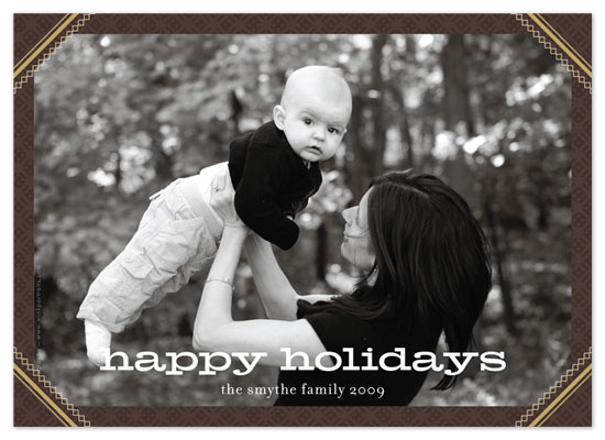 holiday photo cards - classic frame by Waui Design