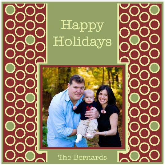 holiday photo cards - Circle Amor by J Sosa
