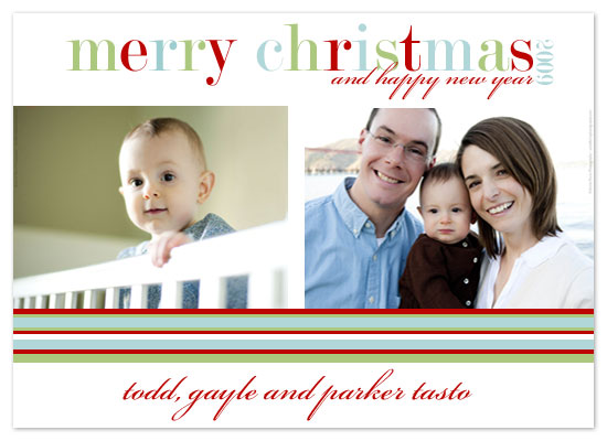 holiday photo cards - Bright Chistmas by JMHickerson Designs