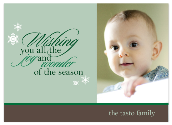 holiday photo cards - The wonder of the season by Monika Natius