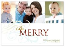 Be Merry Collage by Jennifer Amy Designs