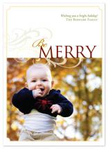Be Merry by Jennifer Amy Designs