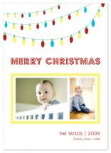 Holiday Lights by Union Paperie