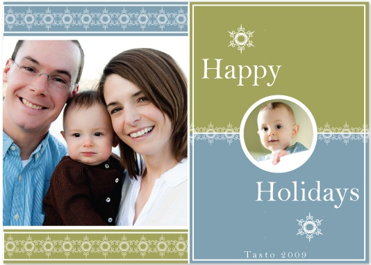 holiday photo cards - Snowflake Sparkle by J Sosa