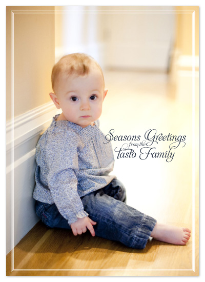 holiday photo cards - Seasons Greetings by Natalie Sullivan Graphic Design