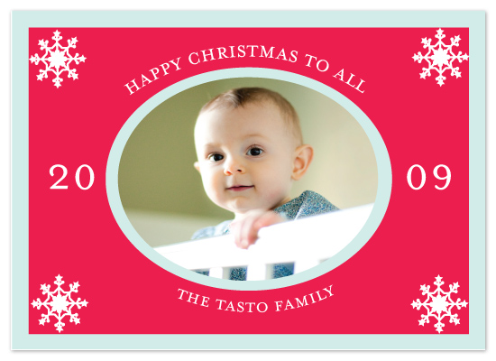 holiday photo cards - Happy Christmas by Avery