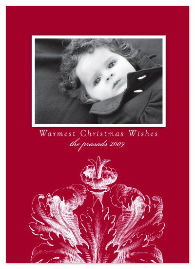 holiday photo cards - Holiday Botanical by Laura Smetak
