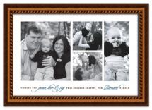 Family Portrait by Ten26 Design Custom Invitations