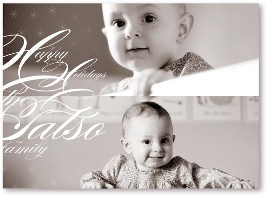 holiday photo cards - Snowflake Music Too by koshi