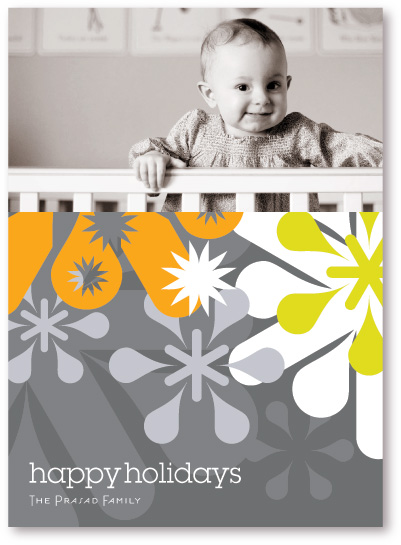 holiday photo cards - Snowglyphic by koshi
