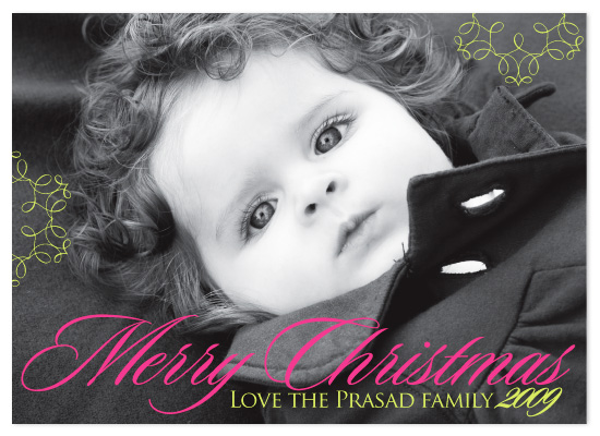 holiday photo cards - Merry by Laura Smetak