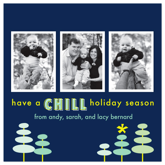 holiday photo cards - Chill Holiday by Laura Smetak