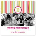 Christmas Monogram by Laura Smetak