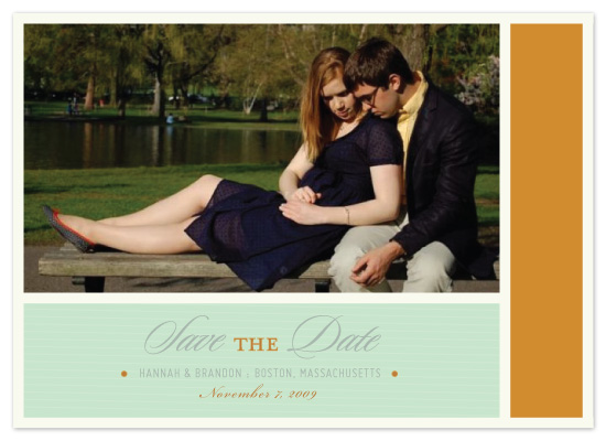 save the date cards - Color Block by McKenzie Estes