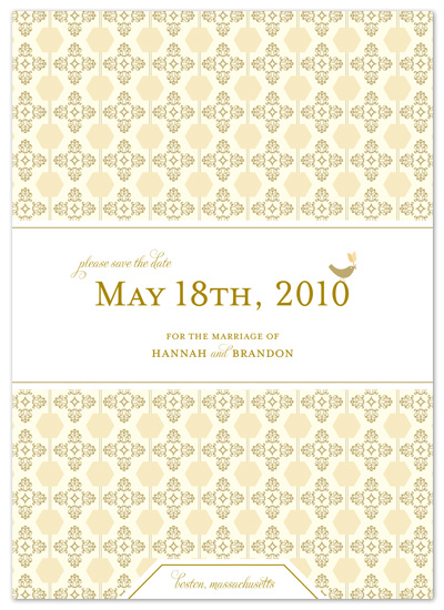 save the date cards - happy spring by Carrie Eckert