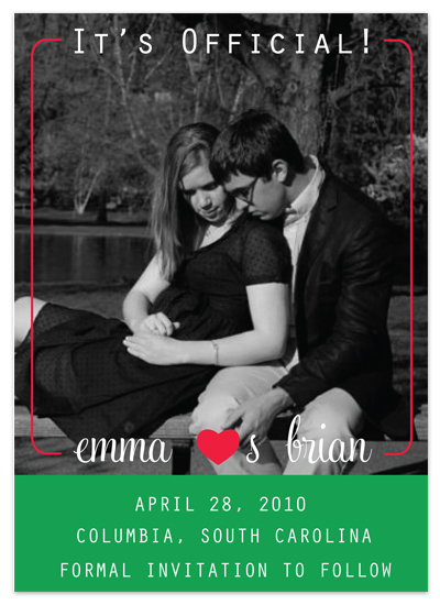 save the date cards - Official by Avery
