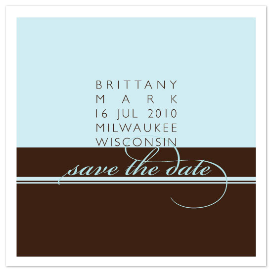 save the date cards - cake by six other press