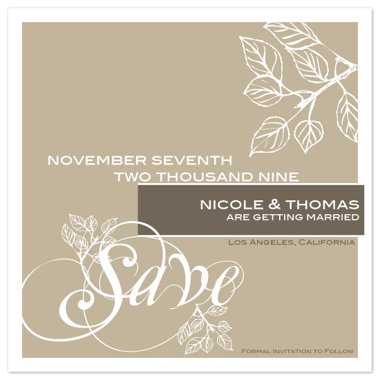 save the date cards - Simply Save by Megan Lehan