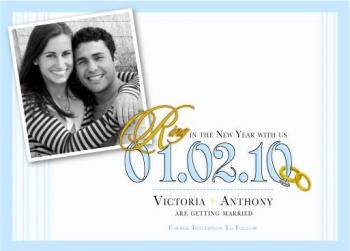 Ring In The New Year Save The Date