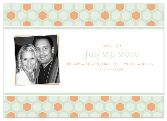 save the date cards - Modern Summer by McKenzie Estes