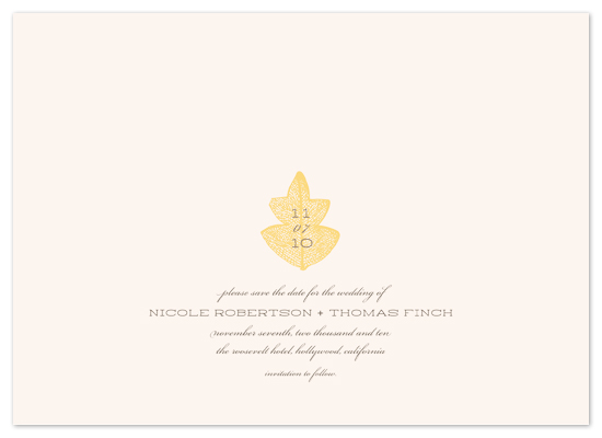 save the date cards - Equinox by beth perry DESIGN