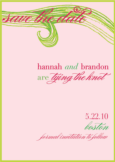 save the date cards - preppy spring by ciao•tay