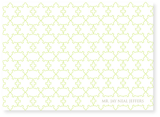 personal stationery - moroccan by Marabou Design