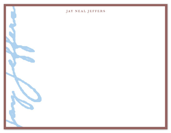 personal stationery - sig by six other press