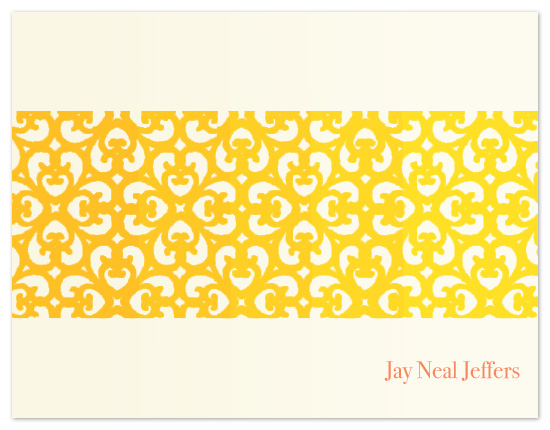 personal stationery - Eastern heat by Natti