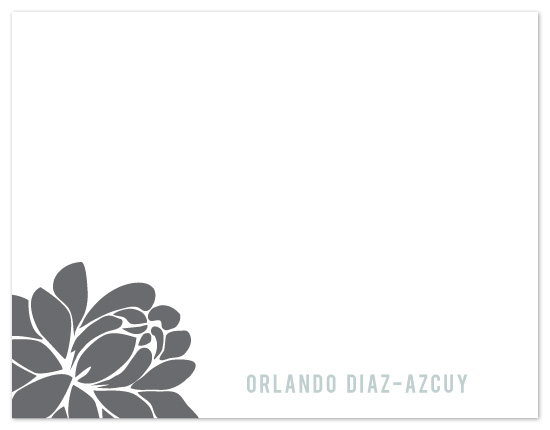 personal stationery - Graphic Blossom by kelly robinson harris