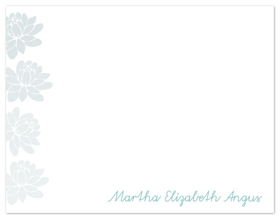 personal stationery - Falling Blossoms by kelly robinson harris