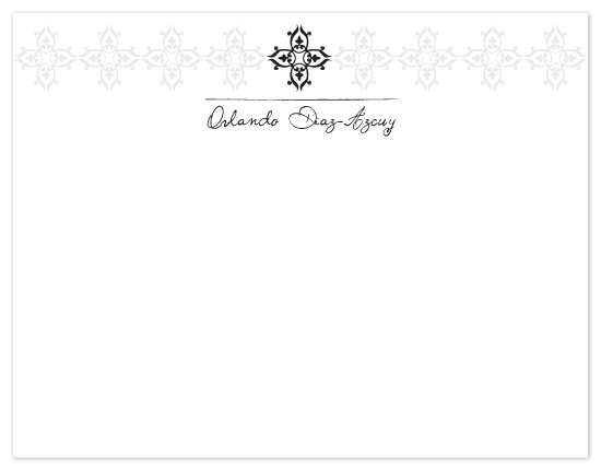 personal stationery - Traditional Touch by Raquel Salaro
