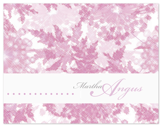 personal stationery - asylum flower pattern by Bella Expressions-Linda Birtel