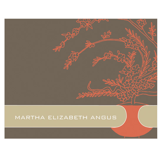 personal stationery - Martha Angus Personal Correspondence   by Courtney Zenner