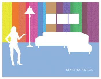 Martha Angus Personal Stationery
