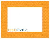 orange frame by Gabriela Cartin