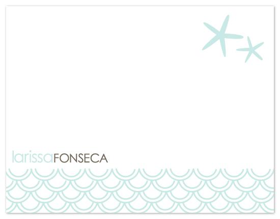 personal stationery - Starfish by Gabriela Cartin