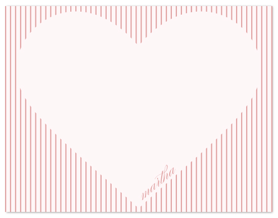 personal stationery - with love by sweet street gals