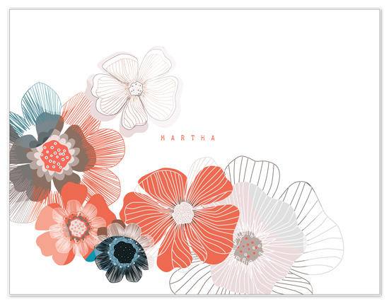 personal stationery - Dry Petals by GLEAUX Art Photo Design