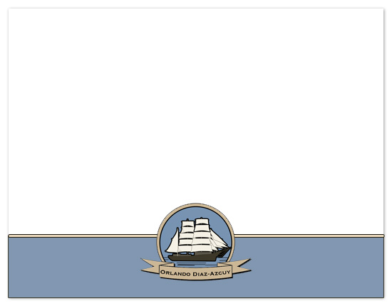 personal stationery - Ships Sailing by Far-Far Design