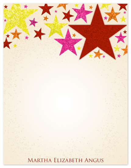 personal stationery - Seeing Stars by Far-Far Design