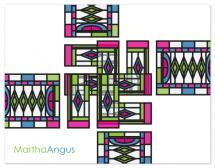 Modern Tile by Joyful Heart Design