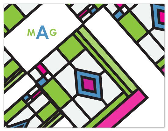 personal stationery - Modern Tile Macro Style by Joyful Heart Design