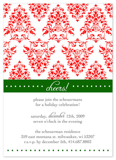 party invitations - Fancy Celebration by Cracked Designs