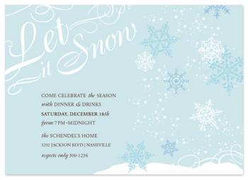 Let it Snow Winter Party