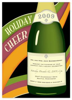 Champagne Holiday Cheer