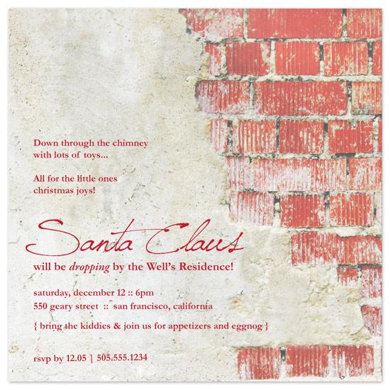 party invitations - Santa Claus Surprise by idieh | design