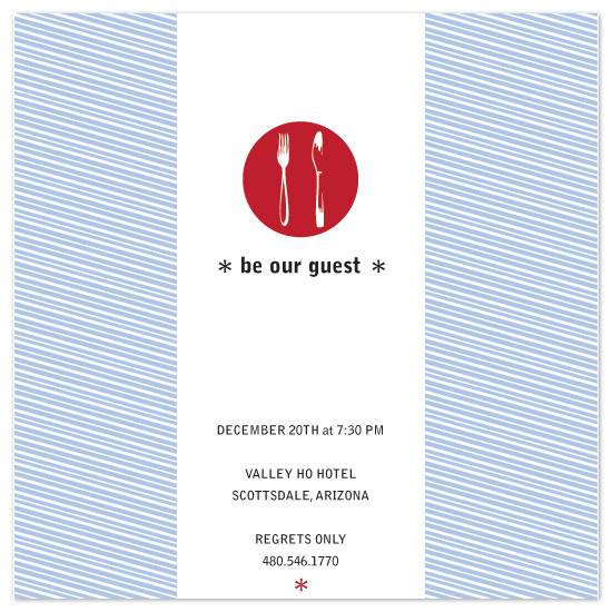 party invitations - Stripes Party by studio LEMONS