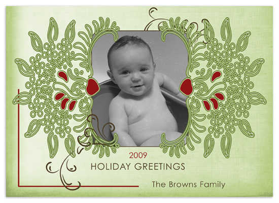 holiday photo cards - Jolly Moments by Wendy Morales