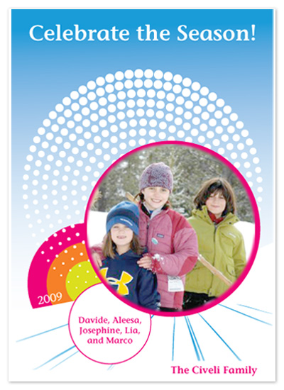 holiday photo cards - Circle of Joy by Poopak